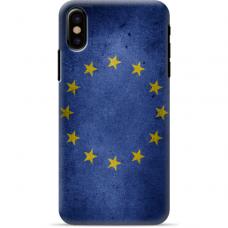 """Tpu Dėklas Unikaliu Dizainu 1.0 Mm """"U-Case Airskin Eu Design"""" Iphone Xs Max Telefonui"""