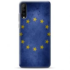 "Tpu Dėklas Unikaliu Dizainu 1.0 Mm ""U-Case Airskin Eu Design"" Huawei P20 Telefonui"