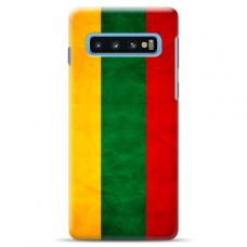 "Tpu Dėklas Unikaliu Dizainu 1.0 Mm ""U-Case Airskin Lietuva Design"" Samsung Galaxy S10 Telefonui"