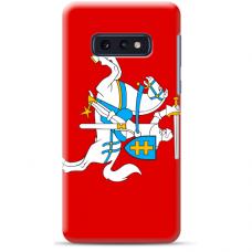 """Tpu Dėklas Unikaliu Dizainu 1.0 Mm """"U-Case Airskin Vytis Design"""" Samsung Galaxy S10E Telefonui"""