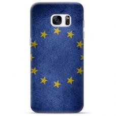 "Tpu Dėklas Unikaliu Dizainu 1.0 Mm ""U-Case Airskin Eu Design"" Samsung Galaxy S6 Edge Telefonui"