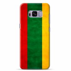 "Tpu Dėklas Unikaliu Dizainu 1.0 Mm ""U-Case Airskin Lietuva Design"" Samsung Galaxy S8 Telefonui"