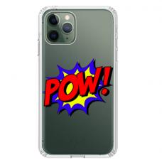 "Tpu Dėklas Unikaliu Dizainu 1.0 Mm ""U-Case Airskin Pow Design"" Iphone 11 Pro Telefonui"