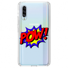 "Tpu Dėklas Unikaliu Dizainu 1.0 Mm ""U-Case Airskin Pow Design"" Huawei P30 Telefonui"