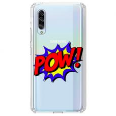 "Tpu Dėklas Unikaliu Dizainu 1.0 Mm ""U-Case Airskin Pow Design"" Samsung Galaxy A7 2018 Telefonui"