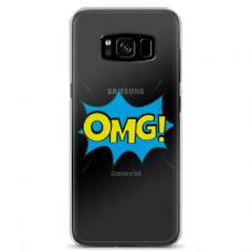 "Tpu Dėklas Unikaliu Dizainu 1.0 Mm ""U-Case Airskin Omg Design"" Samsung Galaxy S8 Telefonui"