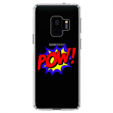 "Tpu Dėklas Unikaliu Dizainu 1.0 Mm ""U-Case Airskin Pow Design"" Samsung Galaxy A6 2018 Telefonui"