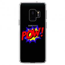 """Tpu Dėklas Unikaliu Dizainu 1.0 Mm """"U-Case Airskin Pow Design"""" Samsung Galaxy S9 Plus Telefonui"""