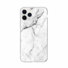 """Tpu Dėklas """"Wozinsky Marble"""" Iphone 11 Pro Baltas"""