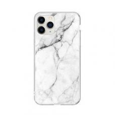 """Tpu Dėklas """"Wozinsky Marble"""" Iphone 11 Pro Max Baltas"""