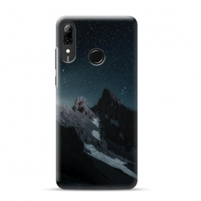"Tpu Dėklas Unikaliu Dizainu 1.0 Mm ""U-Case Airskin Mountains 1 Design"" Huawei P Smart 2019 Telefonui"