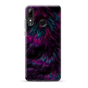 "Tpu Dėklas Unikaliu Dizainu 1.0 Mm ""U-Case Airskin Feather Design"" Huawei P Smart 2019 Telefonui"
