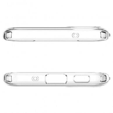 "TPU dėklas unikaliu dizainu 1.0 mm ""u-case Airskin Flowers 2 design"" Samsung Galaxy S20 telefonui 4"