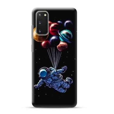 "TPU dėklas unikaliu dizainu 1.0 mm ""u-case Airskin Cosmo design"" Samsung Galaxy S20 telefonui"