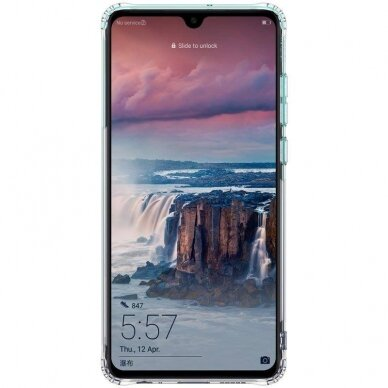 "TPU dėklas unikaliu dizainu 1.0 mm ""u-case Airskin Blue design"" Huawei P40 Lite E telefonui 2"