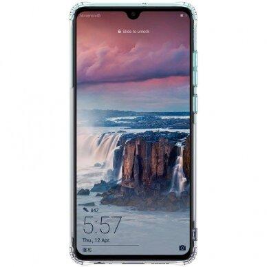 "Tpu Dėklas Unikaliu Dizainu 1.0 Mm ""U-Case Airskin Leaves 1 Design"" Huawei P Smart 2019 Telefonui 2"