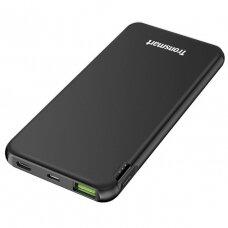 Išorinė baterija Tronsmart 10000 mAh, 18W, 3A USB/USB Type C, Quick Charge FCP AFC juoda (363477)