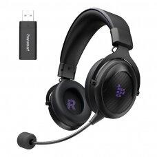 Tronsmart Shadow žaidimų bevielės ausinės su mikrofonu Violetinė (372308)
