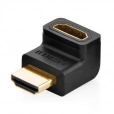 HDMI Kabelis Ugreen up angle adapter juodas (20110)