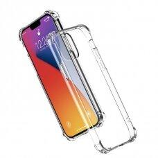 Skaidrus dėklasUgreen Protective Silicone Case Soft Flexible iPhone 12 Pro / iPhone 12 permatomas