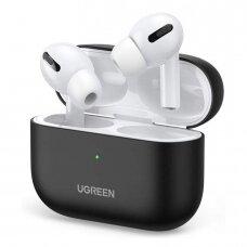 Ugreen Silica gelinis dėklas Apple Airpods Pro juodas (80513) (ctz220)