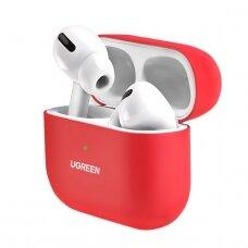 Ugreen Silica gelinis dėklas Apple Airpods Pro raudonas (80512) (ctz220)
