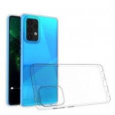 Dėklas Ultra Clear 0.5mm Case Gel TPU Samsung Galaxy A02s Permatomas