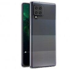 Plonas dėklas Ultra Clear 0.5mm Samsung Galaxy A12 Skaidrus