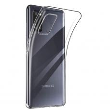 Plonas TPU dėklas Ultra Clear 0.5Mm Samsung Galaxy A31 skaidrus