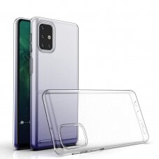 Dėklas Ultra Clear 0.5Mm skirta Samsung Galaxy M31S Skaidrus