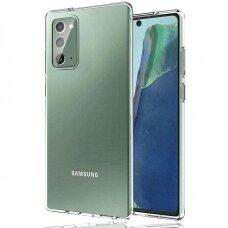 Ultra Clear 0.5Mm Gelinis Tpu Dėklas Samsung Galaxy Note 20 Skaidrus