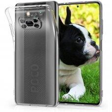 Dėklas Ultra Clear 0.5Mm skirta Xiaomi Poco X3 Nfc Skaidrus