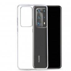 Ultra skaidrus 0.5mm dėklas TPU Huawei P40 Pro skaidrus