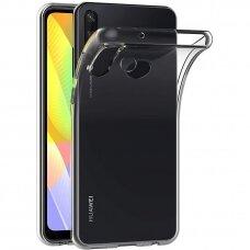 Ultra Clear 0.5Mm Dėklas Tpu Huawei Y6P Skaidrus