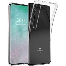Ultra Clear 0.5mm dėklas TPU Xiaomi Mi 10 Pro / Xiaomi Mi 10 skaidrus