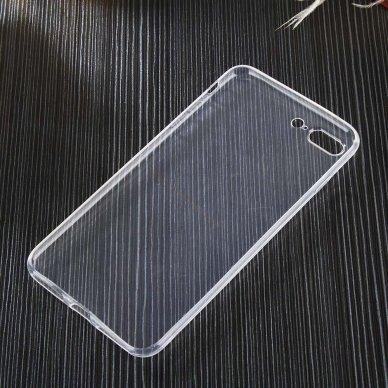 """Plonas Gelinis Dėklas Nugarėlė """"Ultra Clear 0.5Mm"""" Samsung Galaxy A51 Permatomas  3"""