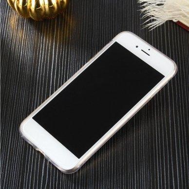 """Plonas Gelinis Dėklas Nugarėlė """"Ultra Clear 0.5Mm"""" Samsung Galaxy A51 Permatomas  4"""