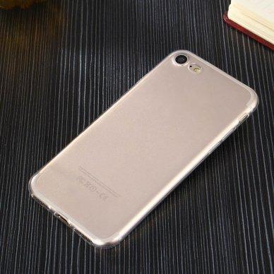 """Plonas Gelinis Dėklas Nugarėlė """"Ultra Clear 0.5Mm"""" Samsung Galaxy A51 Permatomas  5"""
