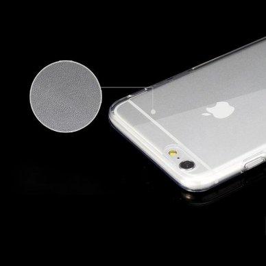 """Plonas Gelinis Dėklas Nugarėlė """"Ultra Clear 0.5Mm"""" Samsung Galaxy A51 Permatomas  6"""