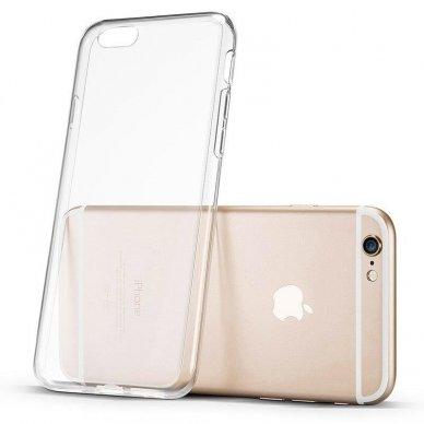 """Plonas Gelinis Dėklas Nugarėlė """"Ultra Clear 0.5Mm"""" Samsung Galaxy A51 Permatomas  2"""