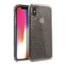 UNIQ Clarion Tinsel apsauginis dėklas  iPhone XS Max juodas (ctz013) UCS059