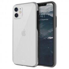 UNIQ dėklas Vesto Hue iPhone 11 sidabrinis (ctz010)