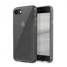 Uniq Lifepro Tinsel Protective Case skirta Iphone Se 2020 / Iphone 8 / Iphone 7 Black