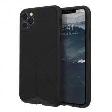 UNIQ Transforma DĖKLAS  iPhone 11 Pro Max juodas (ctz008) USC056