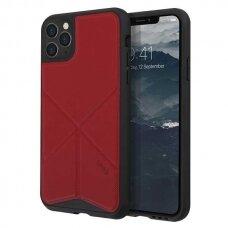 UNIQ Transforma DĖKLAS  iPhone 11 Pro Max raudonas (ctz008) USC056