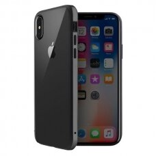 UNIQ Valencia skaidrus protective case for iPhone XS Max pilkas (ctz013) UCS059