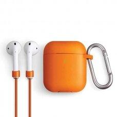 UNIQ Vencer protective case for AirPods 2 / AirPods 1 orange (ctz220)