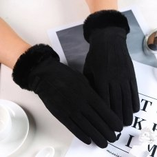 UNIVERSAL WINTER GLOVES - TOUCH SCREEN COMPATIBLE BLACK