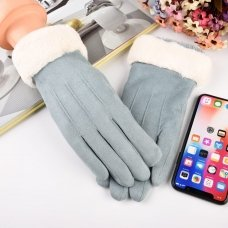 UNIVERSAL WINTER GLOVES - TOUCH SCREEN COMPATIBLE BLUE