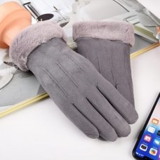 Universal Winter Gloves - Touch Screen Compatible Gray